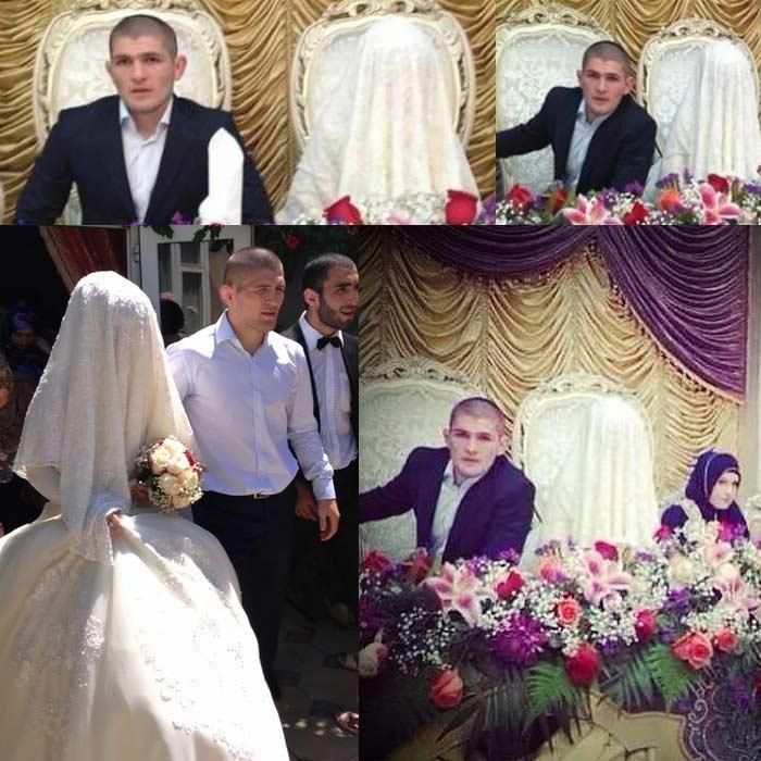 Жена Хабиба Нурмагомедова – фото, свадьба, семья, дети