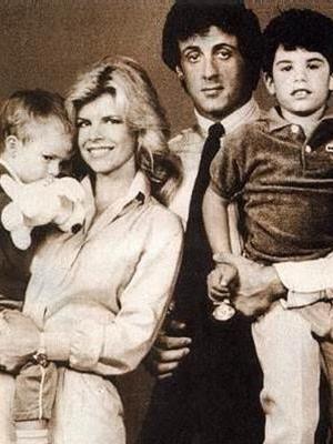 Жена Сильвестра Сталлоне – фото, дети, семья