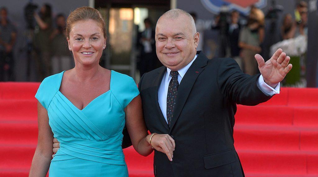 Жена Дмитрия Киселева, Мария – фото