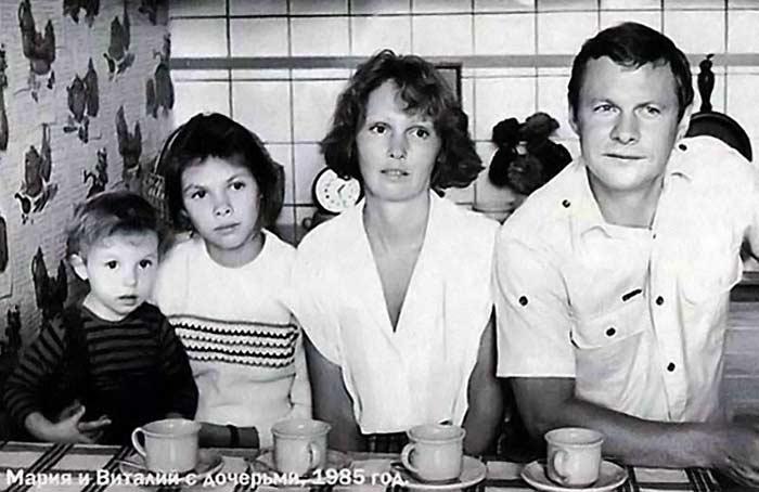 Жена Виталия Соломина – фото, биография, дети