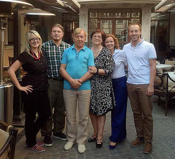 Жена Юрия Чернова – фото, личная жизнь