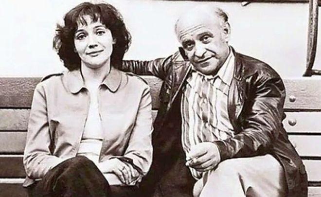 Жена Ролана Быкова
