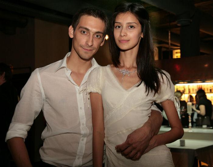 Артем Ткаченко и его жена