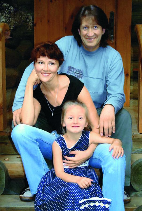 Жена Олега Митяева Марина Есипенко — фото, дети