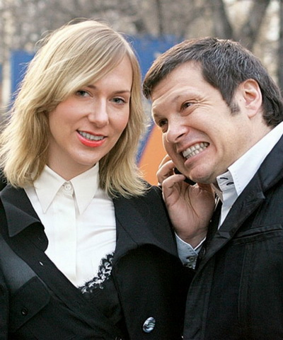 Жена Владимира Соловьева — фото, биография, дети