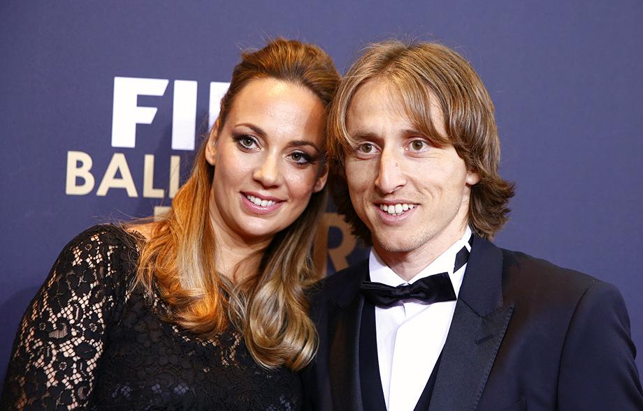 Жена Луки Модрича — фото, как зовут, дети