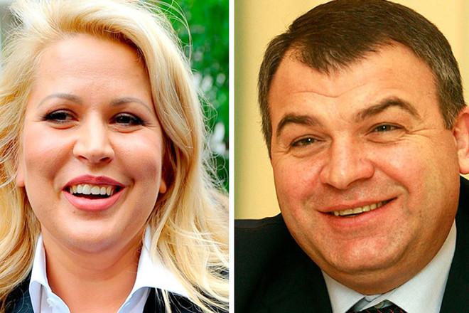Сердюков и Васильева муж и жена — последние новости