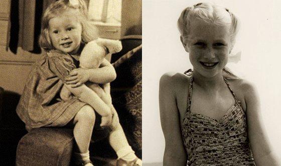 Хелен Миррен в молодости