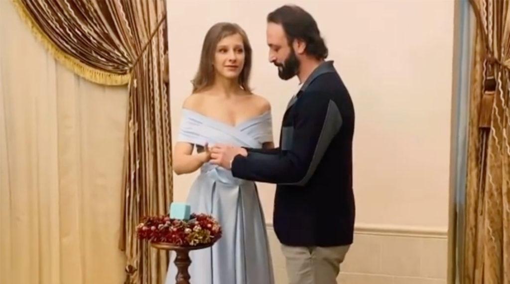 Лиза Арзамасова и Илья Авербух: долгожданная свадьба состоялась